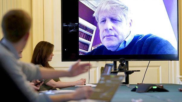 Virus Outbreak Britain Boris Johnson