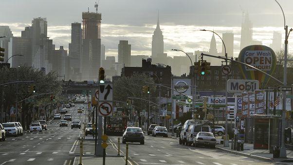 ABD'de koronavirüsün merkez üssü konumundaki New York