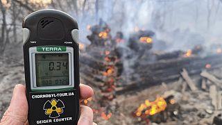 Çernobil'de yangın çıktı, bölgedeki radyasyon seviyesi 16 kat arttı