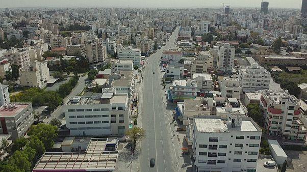 Λευκωσία: Η άδεια πρωτεύουσα της Κύπρου εν μέσω της πανδημίας - Video Drone