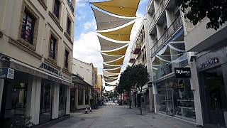 شاهد: شوارع قبرصية مهجورة بسبب إجراءات مواجهة كوفيد-19