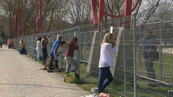 Grenze bei Konstanz: Keine Küsse mehr am Zaun