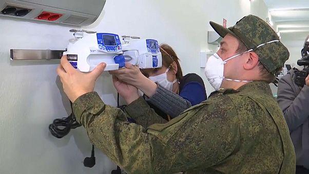 Российские медики от Бергамо до Валево