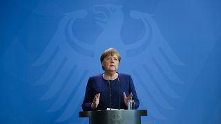 Almanya Şansölyesi Angela Merkel
