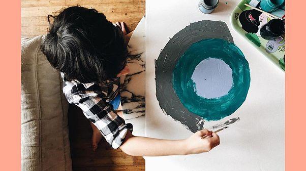 Coronavirus, dalla Francia l'account Instagram con le attività manuali per bambini piccoli