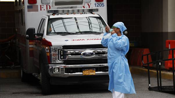 Virus Outbreak New York