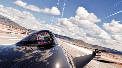 Flying electric cars have landed and there will be races in late 2020