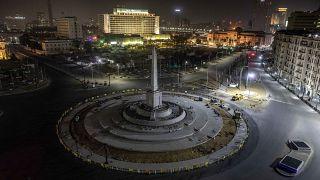 ساحة التحرير وسط العاصمة المصرية، القاهرة