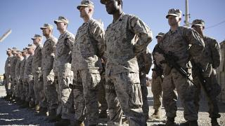 Морпехи США в Афганистане, январь 2018 г.