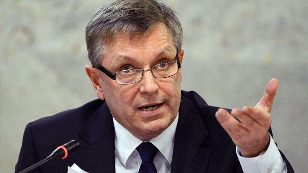 Matolcsy György, az MNB elnöke