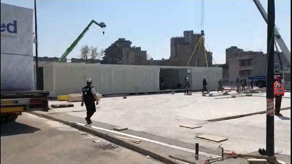 Napoli da record: nuovo ospedale da campo in pochi giorni