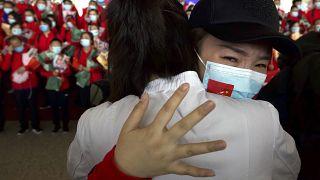 Wuhan recupera la vida tras el encierro con precauciones para evitar un rebrote de coronavirus