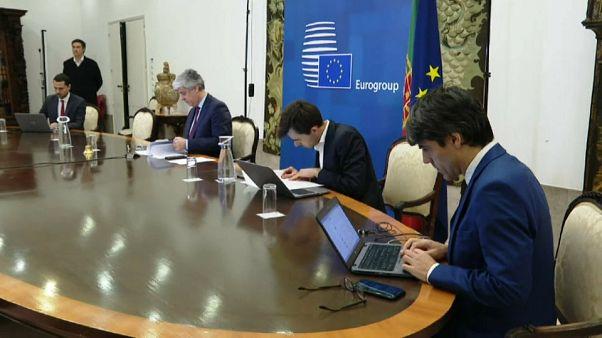 El Eurogrupo dividido frente al COVID-19
