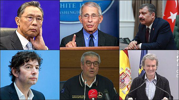 Covid-19 salgını ile ülkelerinin medyatik yüzleri oldular: Toplumu bilgilendiren yetkililer kim?