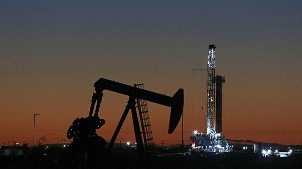 ABD'nin Teksas eyaletinde bir petrol rafinerisi