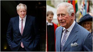 الأمير تشارلز شُفي بعد عدة أيام بالمنزل بينما يعاني بوريس جونسون من الفيروس بالعناية المركزة
