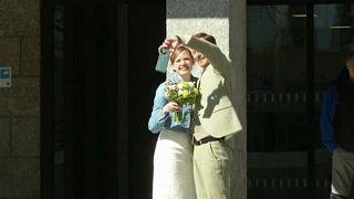 Esküvő a kölni városházán - násznép nélkül