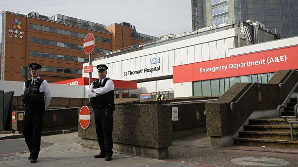 Boris Johnson'ın tedavi gördüğü hastane