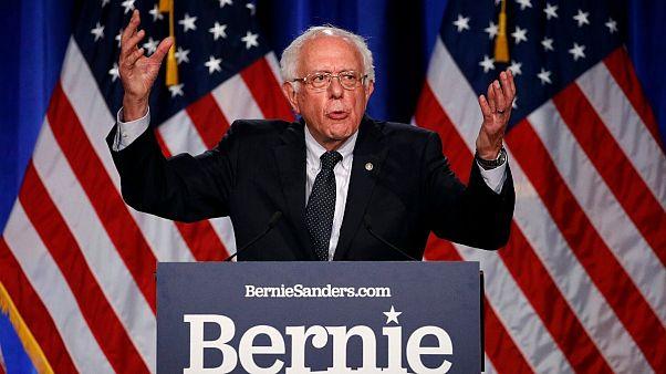 برنی سندرز از ادامه رقابت در انتخابات ریاست جمهوری آمریکا انصراف داد