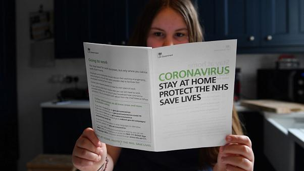 A coronavirus letter sent to all UK homes by the UK Government