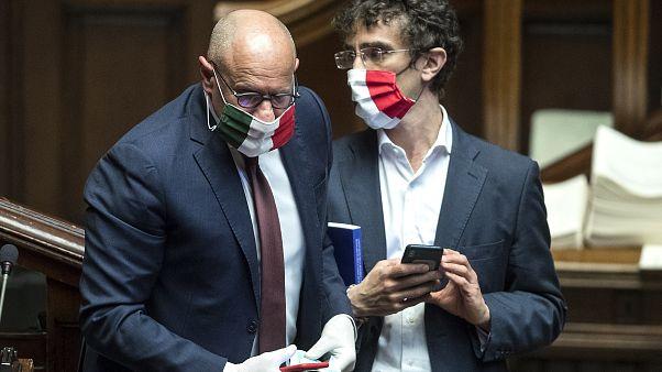 Abgeordnete in Rom