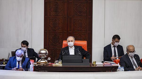 Türkiye Büyük Millet Meclisi (TBMM) Genel Kurulu, Başkanvekili Levent Gök