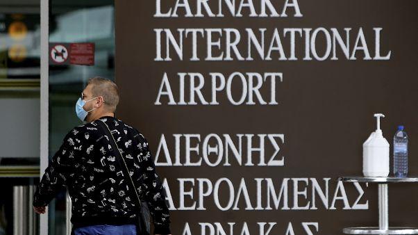 Larnaka Airport Cyprus