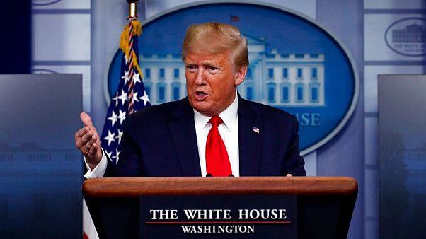 شیوع کرونا؛ ترامپ: مشکلی با ارسال تجهیزات پزشکی به ایران ندارم