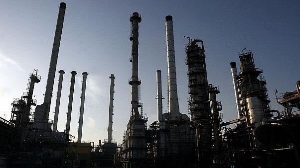 İran'daki petrol rafinesi