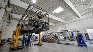 Koronavírus - Újraindult az autóbuszgyártás Debrecenben , Koronavírus - Újraindult az autóbuszgyártás Debrecenben , Koronavírus - Újraindult az autóbuszgyártás Debrecenben
