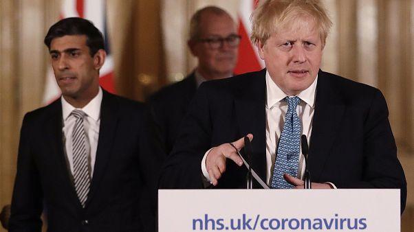 Boris Johnson am 17. März