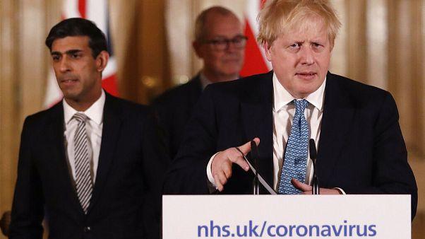 Virus Outbreak Britain Cabinet