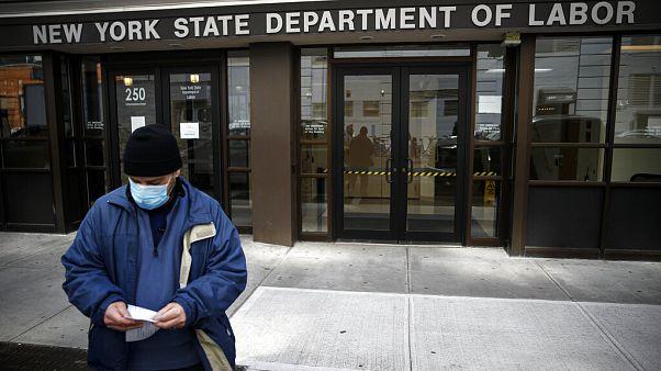 ABD'de koronavirüs salgını sonrası 4.5 milyon kişi işini kaybedebilir