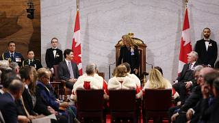 الحاكم الكندي العام جولي باييت ورئيس الوزراء جاستن ترودو