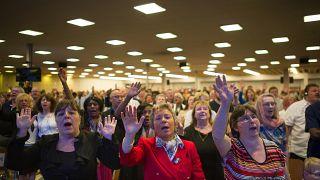 التجمع الديني في الكنيسة الإنجيلية بمدينة مولوز في فرنسا