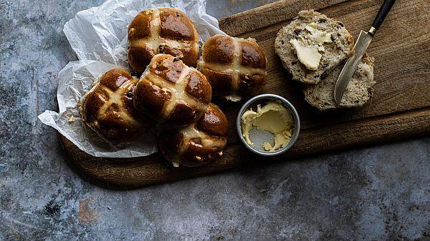 Hot Cross Buns from Bread Ahead