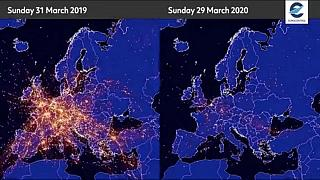 «بزرگترین بحران حمل و نقل هوایی»؛ کرونا آسمان اروپا را خلوت کرد