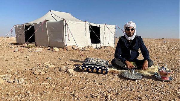 #StayInYourTent: COVID-19 protective measures reach Sahara Desert