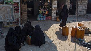 واهمه از کرونا و فرار سه زن فرانسوی عضو داعش از اردوگاه الهول سوریه