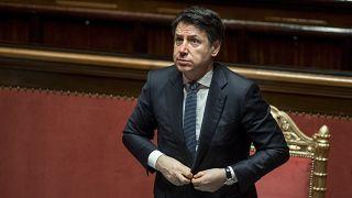 Giuseppe Conte im Parlament, 26. März