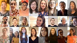 'Don't Stop Me Now': Lyon choir sings from lockdown