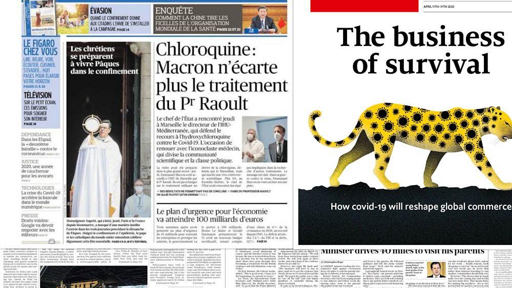 ¿Cómo han estado cubriendo los periódicos europeos la crisis del coronavirus? 69