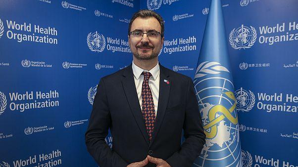 Dünya Sağlık Örgütü Türkiye Temsilcisi Pavel Ursu