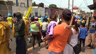 Nicaragua ignora las medidas contra la pandemia