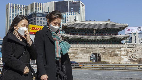Güney Kore'nin başkenti Seul'de Covid-19 tedbirleri