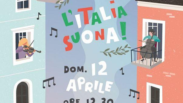 Le message musical de l'orchestre de La Scala au personnel soignant italien