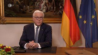 """الرئيس الألماني: وباء كورونا """"ليس حربا"""" بل """"اختبار لإنسانيتنا"""""""