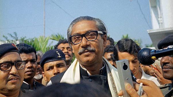 Bangladeş'in kurucu Cumhurbaşkanı Şeyh Mucibur Rahman