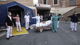 Virus Outbreak Italy Easter