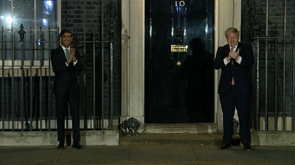 Coronavirus Pandemie: Premierminister Boris Johnson aus Klinik entlassen